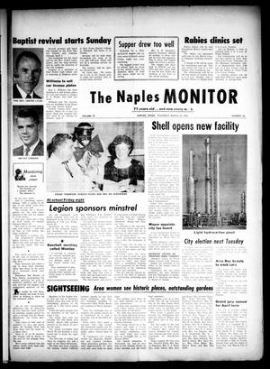Primary view of object titled 'The Naples Monitor (Naples, Tex.), Vol. 77, No. 36, Ed. 1 Thursday, March 28, 1963'.