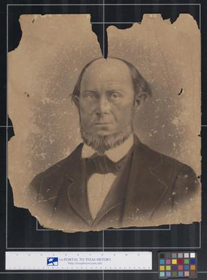 Primary view of object titled 'Studio Photograph of a Man'.