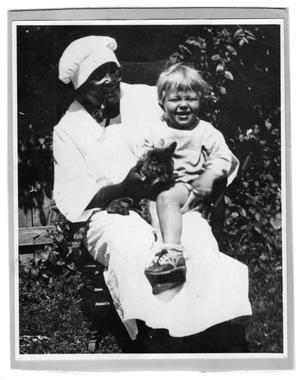 Primary view of object titled '[Portrait of Aunt Molly and Musley Jr.]'.