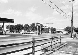 Primary view of object titled '[Intersection of Bell Ave. and McKinney St. in Denton]'.