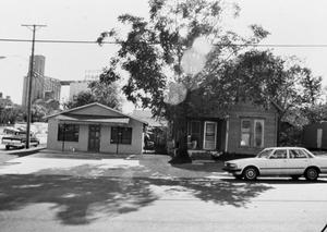 Primary view of object titled '[Homes on Industrial St. in Denton, Texas]'.