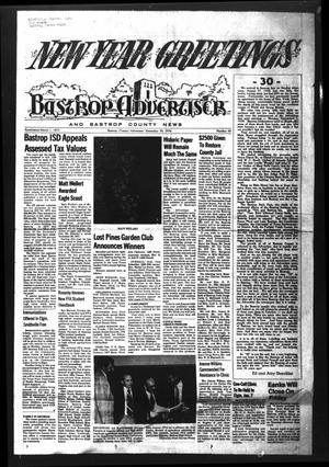 Primary view of object titled 'Bastrop Advertiser and Bastrop County News (Bastrop, Tex.), Vol. [123], No. 44, Ed. 1 Thursday, December 30, 1976'.