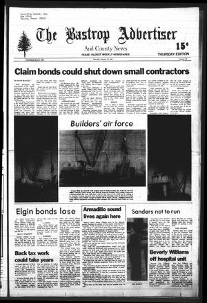 Primary view of object titled 'The Bastrop Advertiser and County News (Bastrop, Tex.), Vol. [127], No. 93, Ed. 1 Thursday, January 22, 1981'.