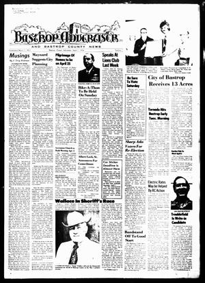 Primary view of object titled 'Bastrop Advertiser and Bastrop County News (Bastrop, Tex.), Vol. [123], No. 5, Ed. 1 Thursday, April 1, 1976'.