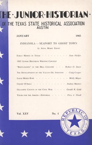 The Junior Historian, Volume 25, Number 4, January 1965