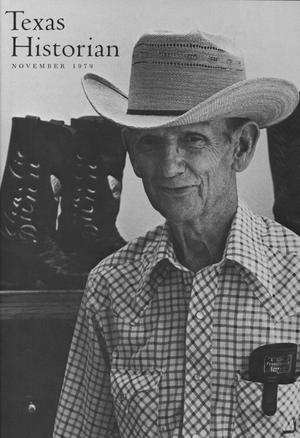 The Texas Historian, Volume 40, Number 2, November 1979