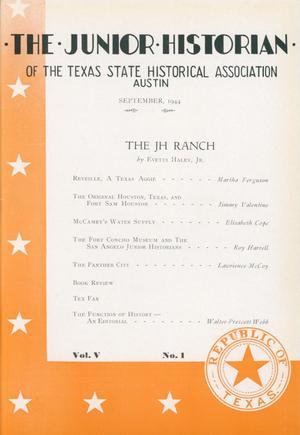 The Junior Historian, Volume 5, Number 1, September 1944