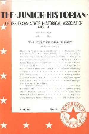 The Junior Historian, Volume 9, Number 1, September 1948