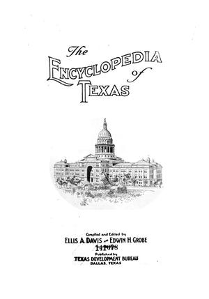 The encyclopedia of Texas, Vol. 2