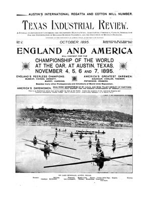 Primary view of object titled 'Texas Industrial Review, Volume 01, Number 03, October, 1895'.