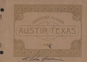 Primary view of object titled 'Souvenir of Austin, Texas'.