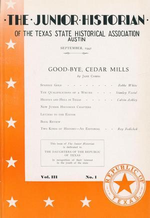 The Junior Historian, Volume 3, Number 1, September 1942