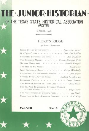 The Junior Historian, Volume 8, Number 5, March 1948