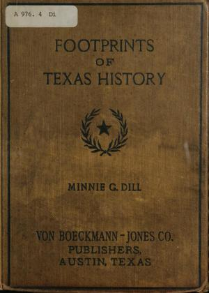 Primary view of object titled 'Footprints of Texas history'.