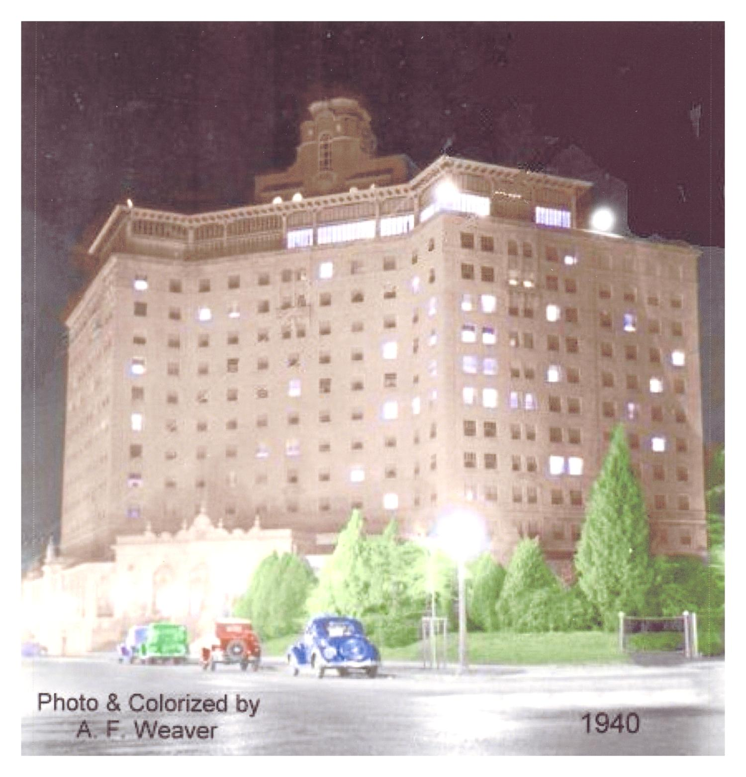 [The Baker Hotel at Night]                                                                                                      [Sequence #]: 1 of 1