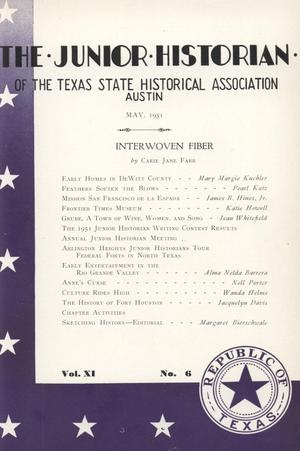 The Junior Historian, Volume 11, Number 6, May 1951
