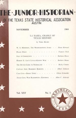 The Junior Historian, Volume 25, Number 2, November 1964