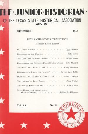 The Junior Historian, Volume 20, Number 3, December 1959