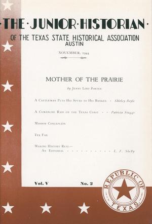 The Junior Historian, Volume 5, Number 2, November 1944