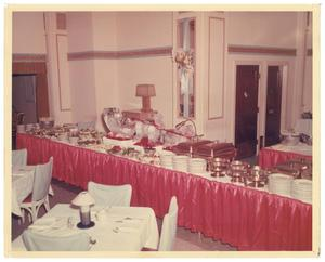Primary view of object titled '[A Buffet Table]'.