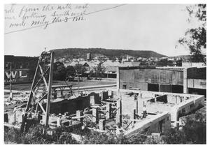 Primary view of object titled '[The Construction of  the Post Office]'.