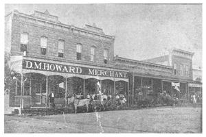 Primary view of object titled 'D. M. Howard Merchant'.