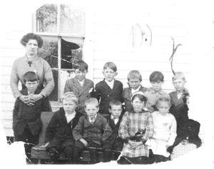 Miss Taylor's Class at Old Bedford School