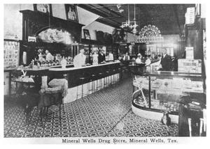 Primary view of object titled 'Mineral Wells Drug Store'.