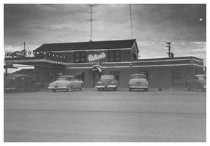 Primary view of object titled '[Oden's Drive Inn]'.