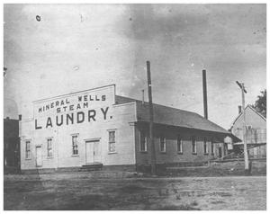 Primary view of object titled '[Mineral Wells Steam Laundry]'.