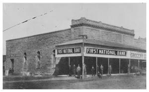Primary view of object titled '[The First National Bank]'.