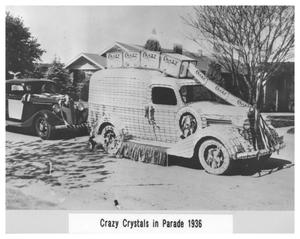 Primary view of object titled 'Crazy Crystals in Parade 1936'.