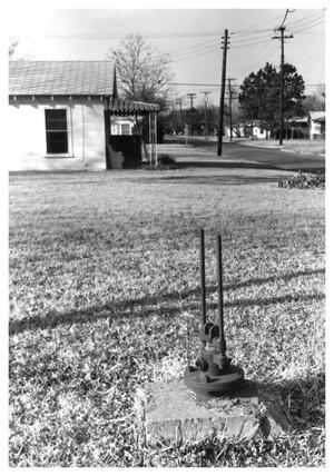 Primary view of object titled '[An Un-named Water Well]'.