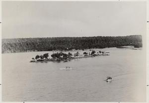 Primary view of object titled '[Photograph of Lake Mineral Wells]'.
