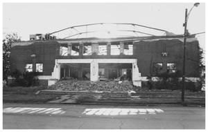 Primary view of object titled '[The Demolition of the Convention Hall, 4 of 5]'.