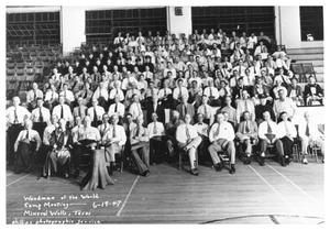 Primary view of object titled 'Woodmen of the World Camp Meeting , June 19, 1947'.