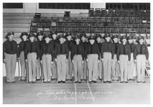 Primary view of object titled '[The W.O.W.  (Woodmen on the World) Drill Team]'.