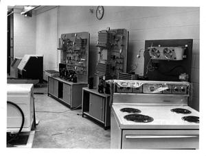 Primary view of object titled '[AC Refrigeration Lab]'.