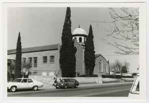 Primary view of object titled '[El Paso First Ward Chapel Photograph #2]'.