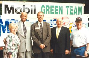 Primary view of object titled '[Mobil Green Team Group photo]'.