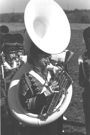 Primary view of object titled '[Sousaphone Player]'.