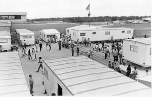 Primary view of object titled '[House Trailers for Classrooms]'.