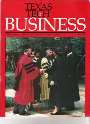 Texas Tech Business, Fall 1986