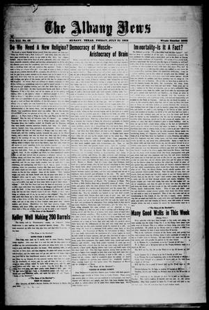 Primary view of object titled 'The Albany News (Albany, Tex.), Vol. 41, No. [52], Ed. 1 Friday, July 31, 1925'.
