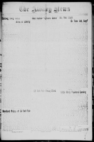 Primary view of object titled 'The Albany News (Albany, Tex.), Vol. 42, No. [6], Ed. 1 Friday, October 9, 1925'.