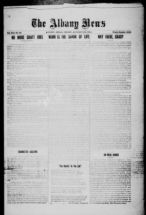 Primary view of object titled 'The Albany News (Albany, Tex.), Vol. 41, No. [30], Ed. 1 Friday, February 6, 1925'.