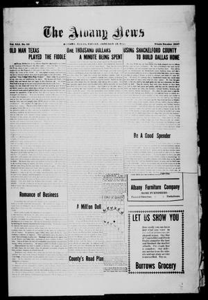 Primary view of object titled 'The Albany News (Albany, Tex.), Vol. 41, No. [28], Ed. 1 Friday, January 23, 1925'.