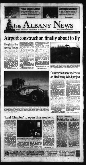 Primary view of object titled 'The Albany News (Albany, Tex.), Vol. 132, No. 34, Ed. 1 Thursday, January 17, 2008'.