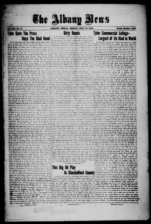 Primary view of object titled 'The Albany News (Albany, Tex.), Vol. 41, No. [51], Ed. 1 Friday, July 24, 1925'.