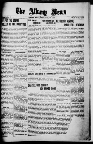 Primary view of object titled 'The Albany News (Albany, Tex.), Vol. 36, No. 47, Ed. 1 Friday, May 7, 1920'.